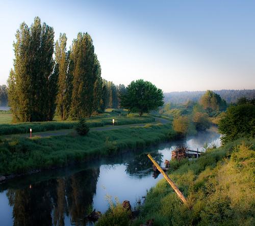 Sammamish  River Winding to Redmond