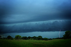 Storm over the meadow photo by James Jordan