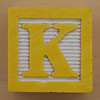 Educational Brick Letter K