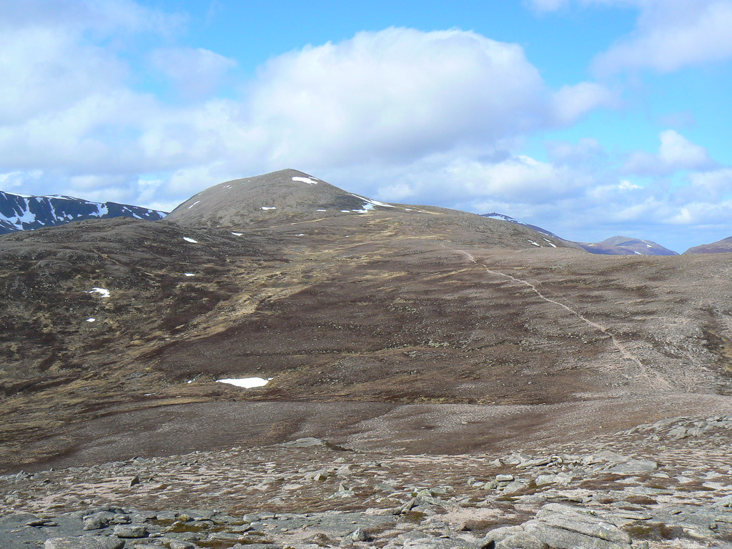 Derry Cairngorm from Carn Crom