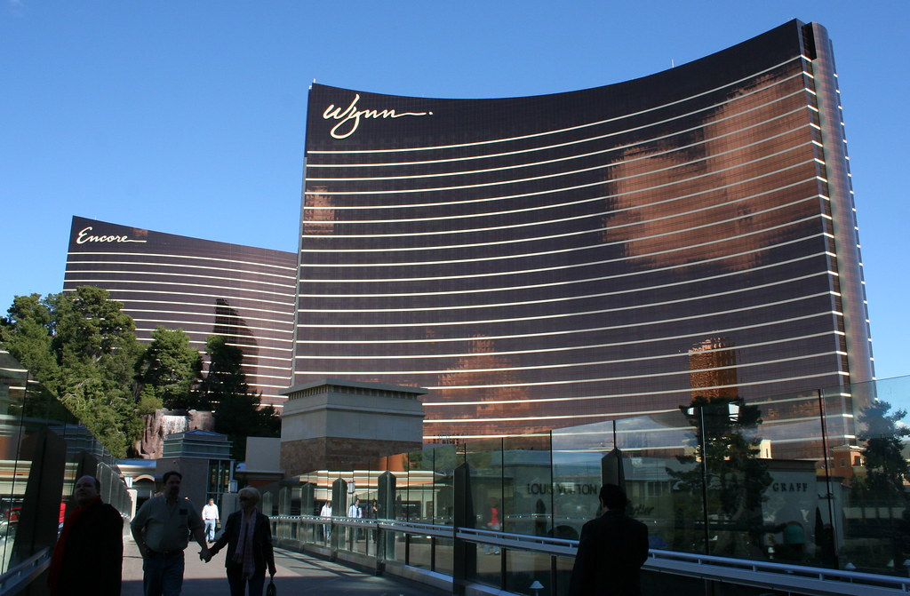 Wynn Hotel and Casino in Las Vegas.