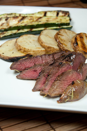 Grilled Orange-Rosemary Duck Breast