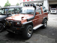 daihatsu rocky feroza Safari style Snorkel photo by rexman pow