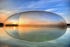 "The spaceship has landed... [Beijing Opera House (""The Egg"") - 国家大剧院] photo by 5ERG10"