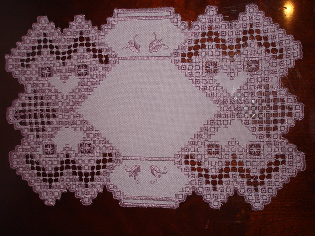 Col's Creations Traditional Hardanger Designs - Stocking Both Easy