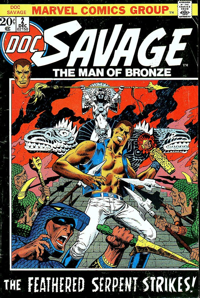 Doc Savage 2 cover by Steranko 1972