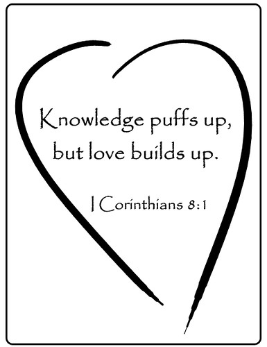 Love Builds Up-Bulletin Art