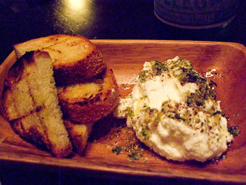 Sheep's Milk Ricotta, Locanda Verde