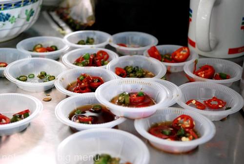 Restoran O&S, Paramount Gardens fishball noodle chilli