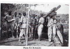 Provence- 1944- Hyères- pièce de 155 court du 1er RA