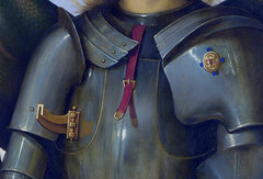 Perugino - Archangel Michael, detail (1499) photo by petrus.agricola
