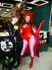 Scarlet Witch and Black Widow photo by heath_bar