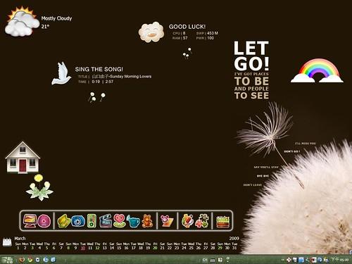 Desktop 2009-03:Dandelion