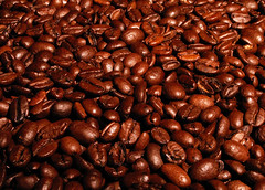 coffee beans photo by bflorox