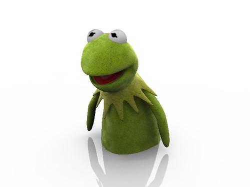 Kermit 3d