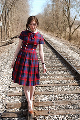 At the Train Tracks photo by strawberrykoi
