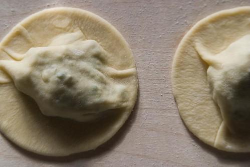 Artichoke ravioli (I)