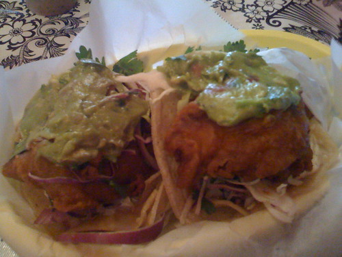 Nick's Crispy Fish Tacos in San Francisco