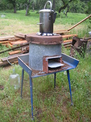 rocket stove photo by fishermansdaughter