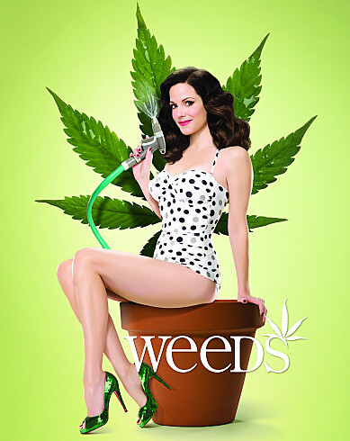 Mary Louise Parker stars in Weeds on Showtime