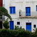 Ibiza - Blanco y azul