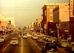 Vintage Post Card: Downtown Anaheim, California photo by cwalsh415