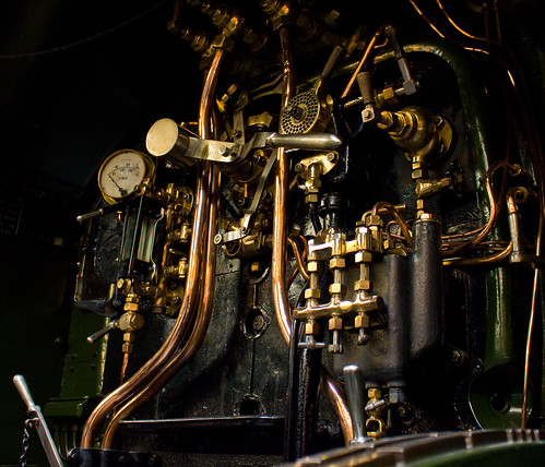 York Railway Museum Engine Controls