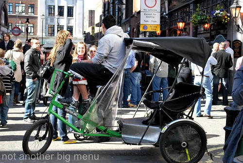Trishaw in Covent Garden, London