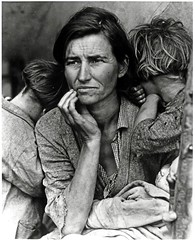 Migrant Mother, Nipomo, California photo by George Eastman House
