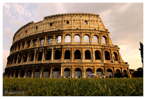 Rome, Colosseum, ancient metropolis city