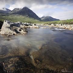 Morning Light - River Etive, Glencoe Scotland photo by David Hannah