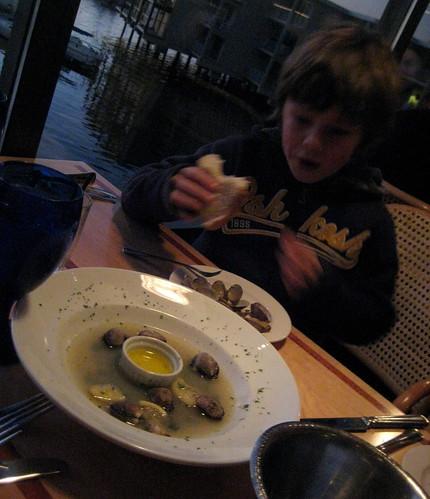last of the clam juice