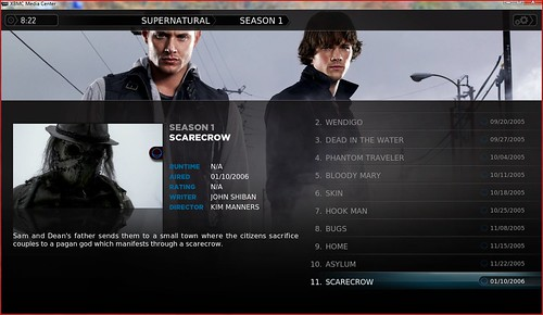 XBMC TV Shows