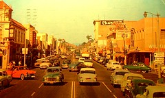 Vintage Post Card: Downtown Fullerton, CA photo by cwalsh415