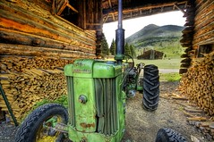 John Deere at the Ranch photo by Stuck in Customs
