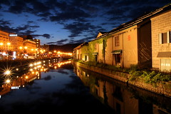 小樽·夜的運河 OTARU CANAL photo by Gp Teo