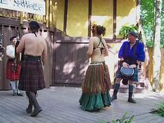Video Bagpipes 2010 Castle Gwynn Tennessee Renaissance Festival Triune photo by leespicedragon