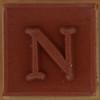 Stamp letter N