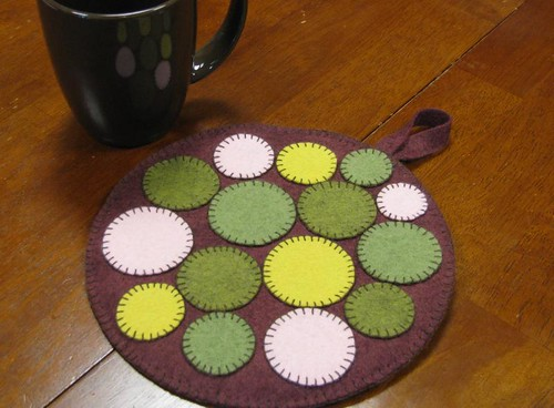 Stepping Stones potholder