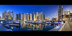 Dubai Marina Yatch Club :: DRI Panorama photo by DanielKHC