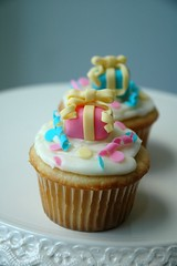 Year end birthday party cupcakes photo by creativecupcakes
