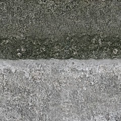 Public domain grey concrete stone wall texture (sharpened, x-tilling) photo by Iwan Gabovitch