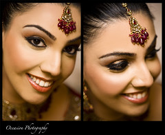 bride portrait photo by Rima Darwash
