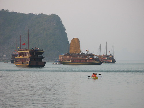 Vietnam Adventure Travel - Halong Bay
