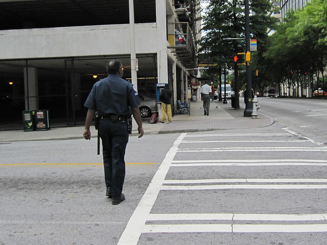 Atlanta 12 - Cop caught jaywalking again (second time) | Flickr ...
