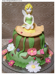 Tinkerbell Cake / Bolo Sininho photo by Dragonfly Doces