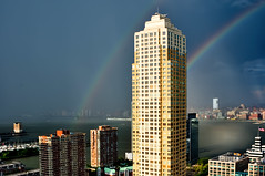 dueling rainbows photo by mudpig