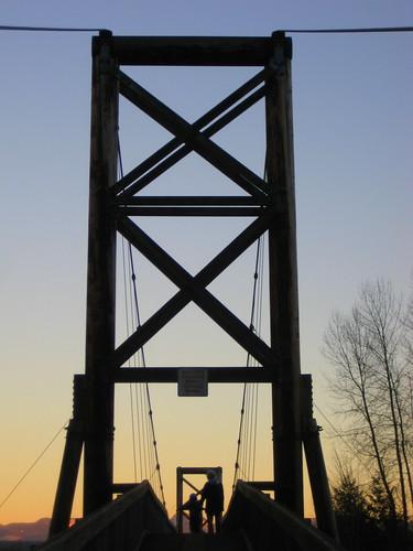 Tolt MacDonald Suspension Bridge