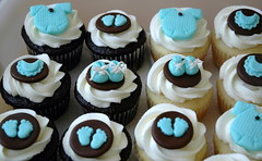 Baby Shower Cupcakes photo by creativecupcakes