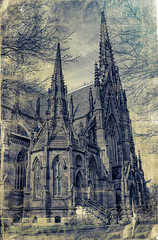 catherdral textured photo by little~ny